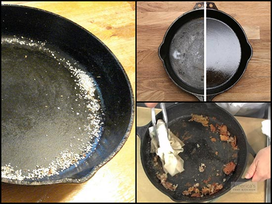 How to Properly Season, Clean, and Care for Cast-Iron Cookware
