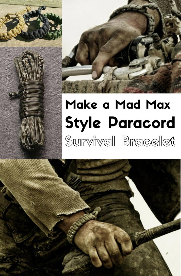 Make A Mad Max Style Paracord Survival Bracelet Home And