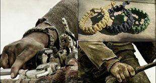 Make a Mad Max Style Paracord Survival Bracelet