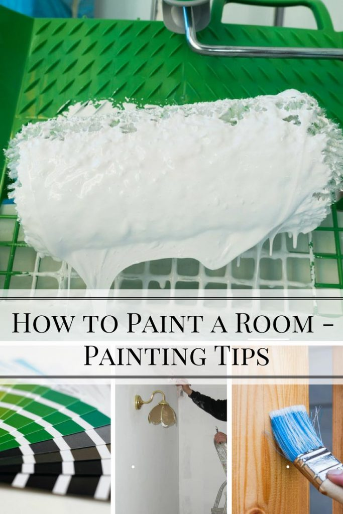 How to paint a room basic painting tips home and for How to pain a room