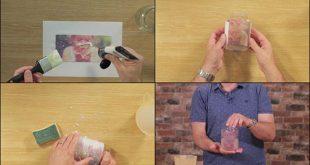 How To Transfer A Photo Onto Glass