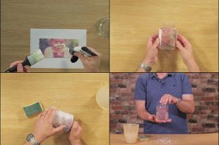 How To Transfer A Photo Onto Glass