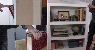 How To Make A Secret Door Bookcase