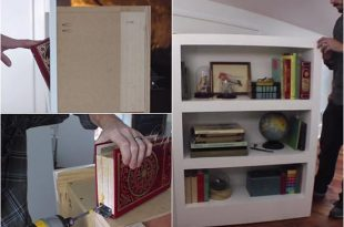 How To Make A Secret Door Bookcase
