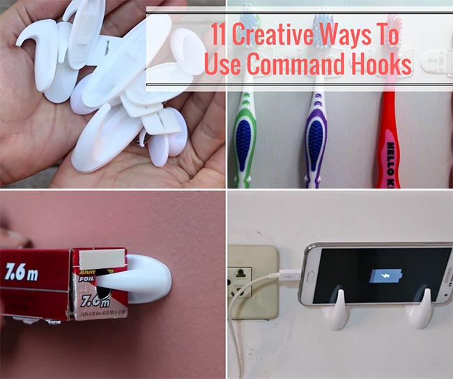 11 Creative Ways To Use Command Hooks
