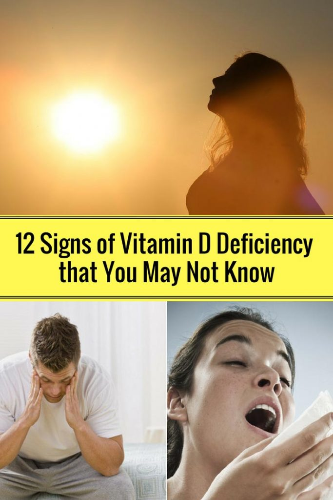 12 Signs of Vitamin D Deficiency that You May Not Know
