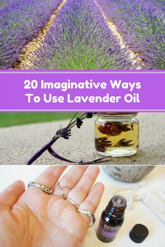 20 Imaginative Ways to Use Lavender Oil