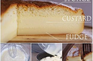 3 Layer Magic Custard Cake