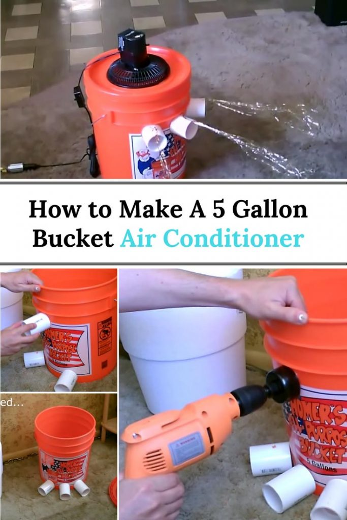 How To Make A 5 Gallon Bucket Air Conditioner Home And