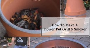 How To Make A Flower Pot Grill & Smoker