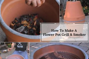 How To Make A Flower Pot Grill & Smoker