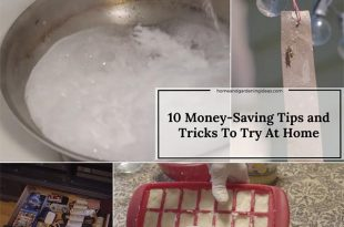 10 Money-Saving Tips and Tricks To Try At Home