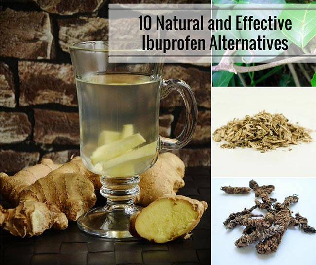 10 Natural and Effective Ibuprofen Alternatives