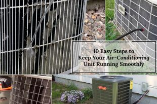 10 Easy Steps to Keep Your Air-Conditioning Unit Running Smoothly