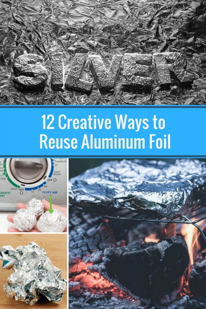 12 creative ways to reuse aluminum foil home and