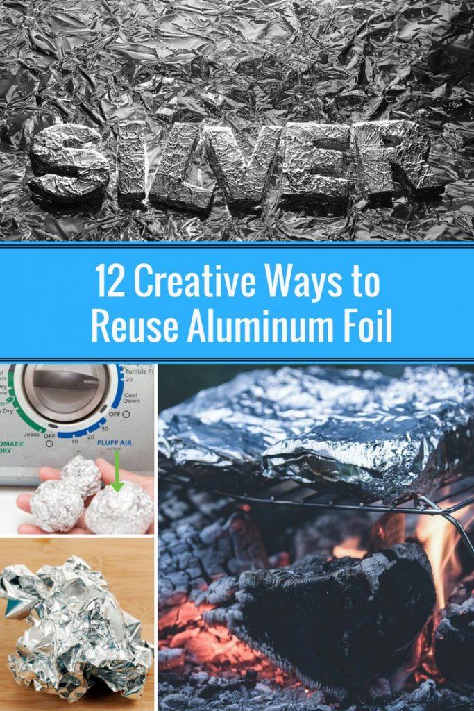 12 Creative Ways to Reuse Aluminum Foil