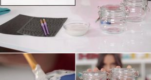 How to Custom Etch Glass Jars: 30 Minute DIY