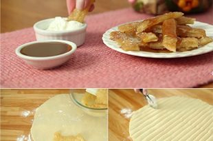 How To Make Apple Pie Fries