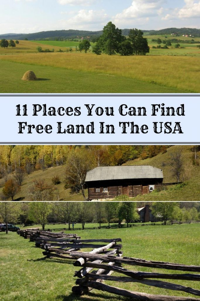 11 places you can find free land in the usa home and
