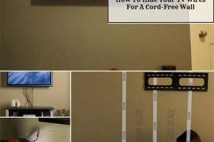 How To Hide Your TV Wires For A Cord-Free Wall