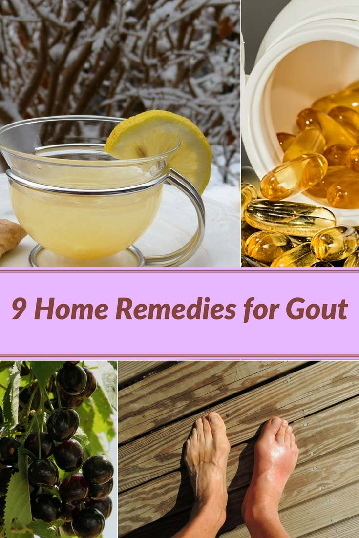 9 Home Remedies for Gout