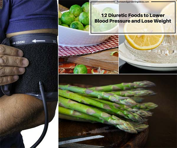 12 Diuretic Foods To LowerBlood Pressure And Lose Weight