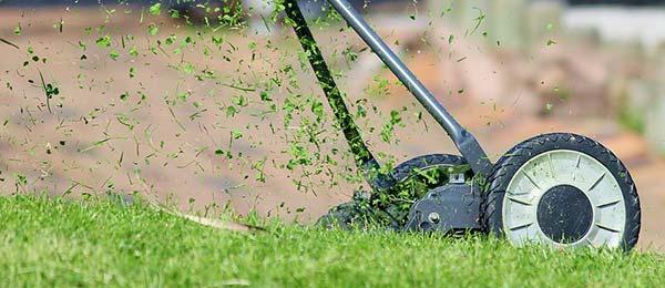 run a tiller, lawn mower