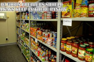 16 Foods Preppers Should Always Keep In There Pantry