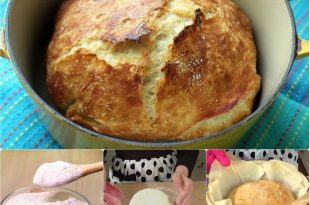 Fast, No Knead Bread Recipe