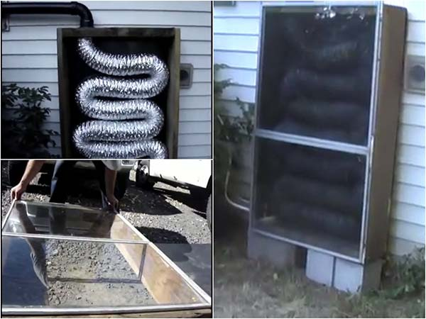 How To Build A Solar Furnace for Under $50