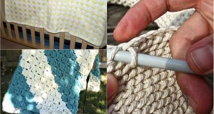 12 Beautiful DIY Crochet Baby Blankets