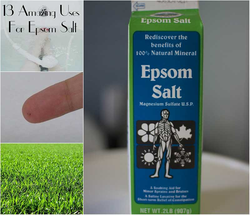 13 Amazing Uses For Epsom Salt