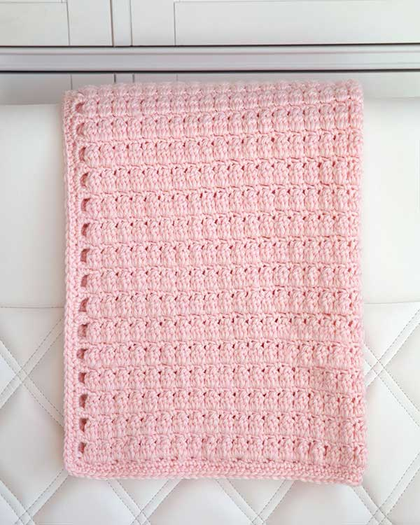 Cozy Clusters Baby Blanket