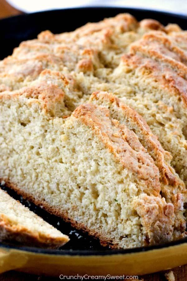 Parmesan Ranch Skillet Bread