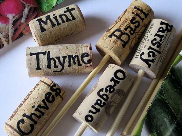 Wine Cork Markers