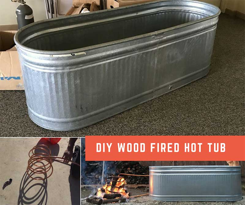 How To Make A Wood Fired Hot Tub For Less Than 300 Home