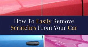 How To Easily Remove Scratches From Your Car