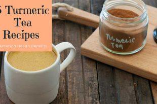 5 Turmeric Tea Recipes