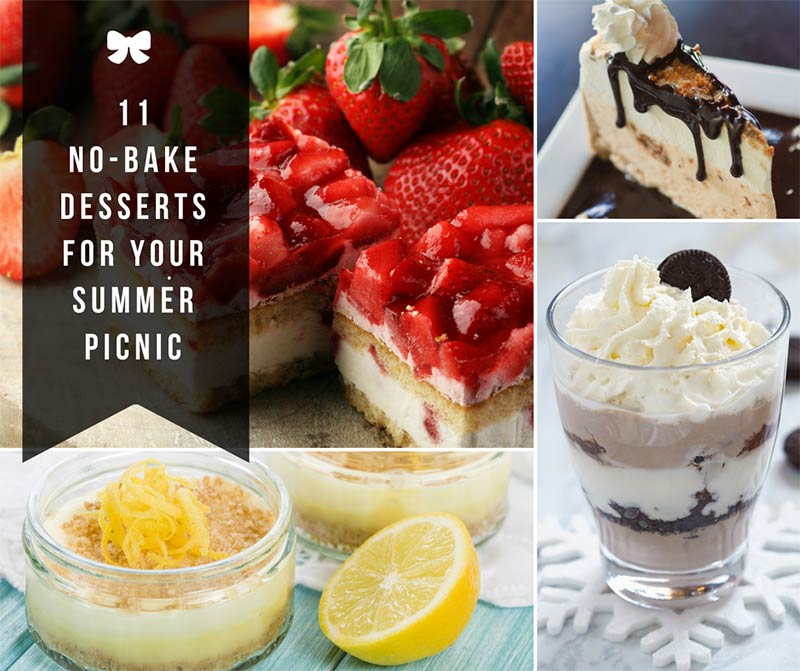 11 No-Bake Desserts for Your Summer Picnic