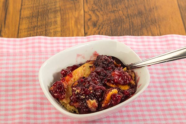 3 Ingredient Campfire Cobbler