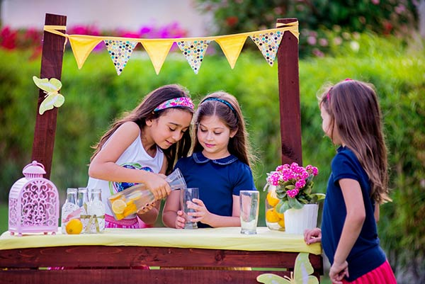 Sell Lemonade at a Stand