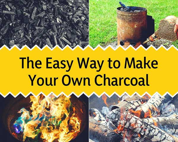 The Easy Way to Make Your Own Charcoal