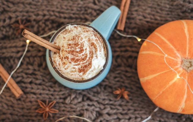 Pumpkin White Hot Chocolate