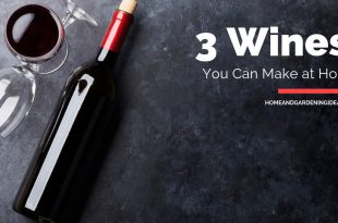 3 Wines You Can Make at Home