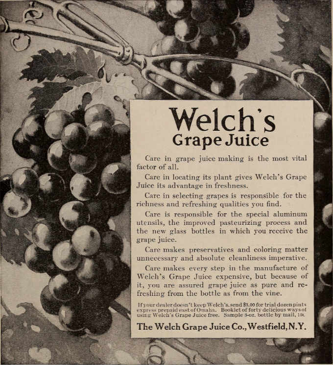 Welch's Grape Fruit Juice Wine