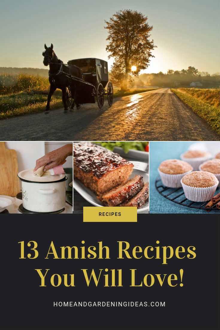 13 Amish Recipes You Will Love