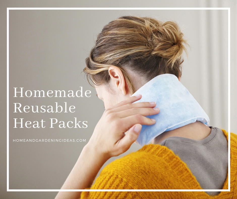 Homemade Reusable Rice Heat Packs
