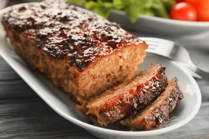 The Best Amish Meatloaf