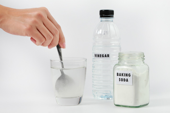 You can use it alone or with vinegar