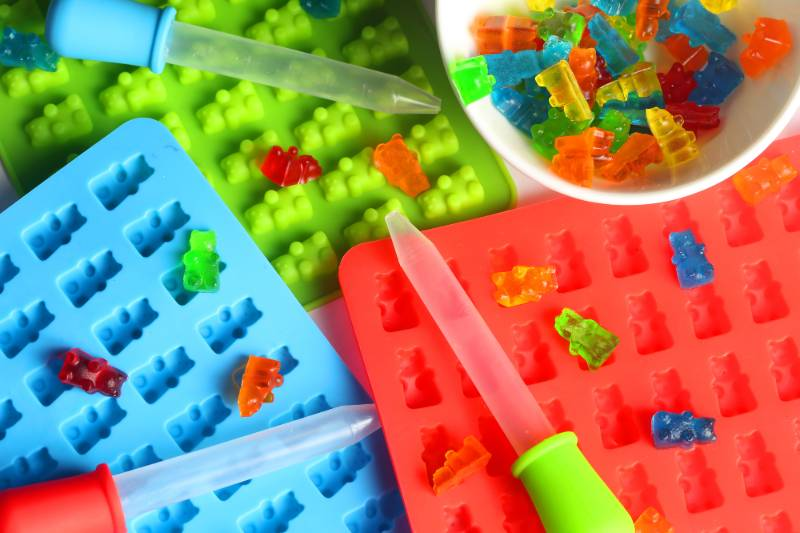 Gummy Bear molds